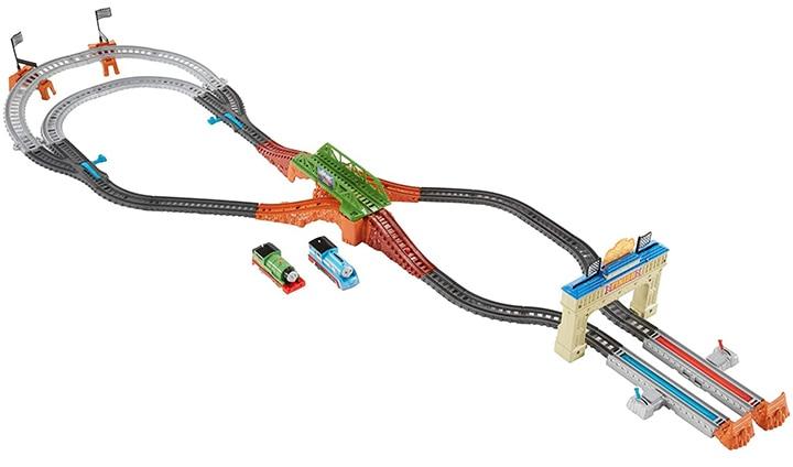 Fisher-Price Thomas & Percy's Railway Race Set