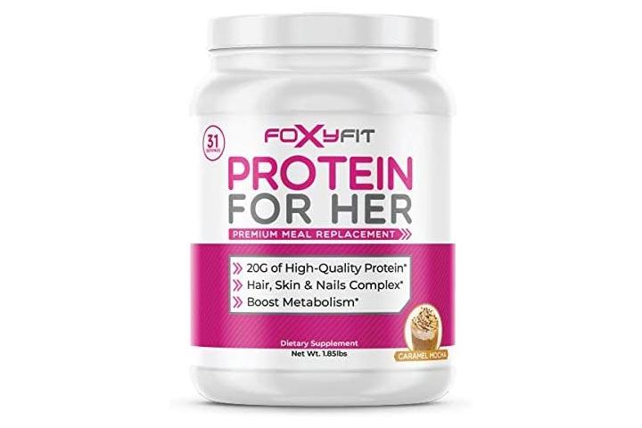 FoxyFit Whey Protein Powder