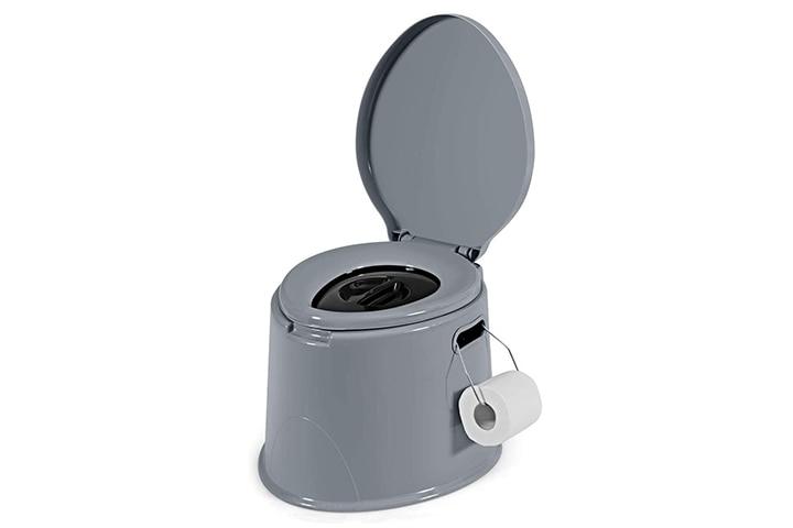 Giantex Portable Travel Toilet with Detachable Inner Bucket