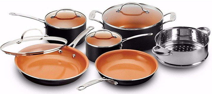 Gotham Steel Pots and Pans Cookware Set