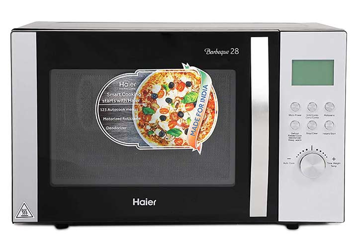 Haier 28L Stainless Steel Convection Microwave Oven