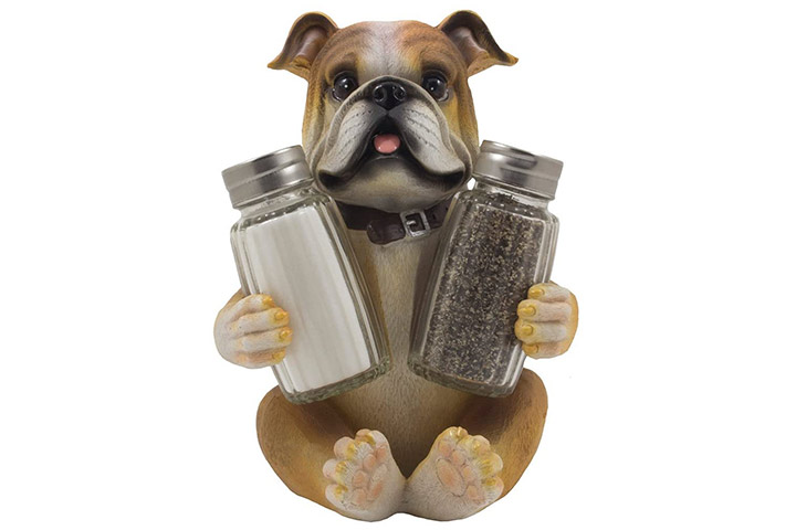 Home n' Gifts Bulldog Salt & Pepper Shaker Set