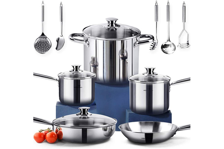 Homi Chef Stainless Steel Cookware Set