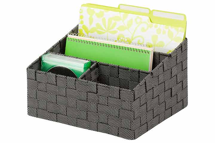 Honey-Can-Do Mail and File Desk Organizer