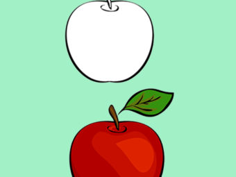 How To Draw An Apple For Kids: Easy Step-By-Step Tutorial