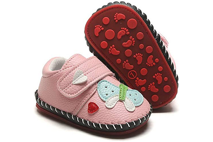 HsdsBebe Baby Walking Sneakers