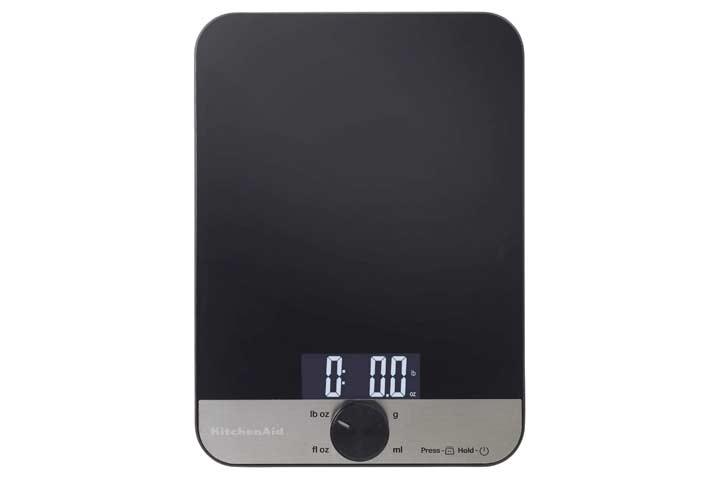 KitchenAid Glass Digital Kitchen Scale