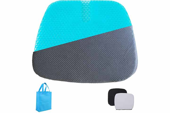 Kysmotic Extra-Large Gel Seat Cushion For Wheelchairs