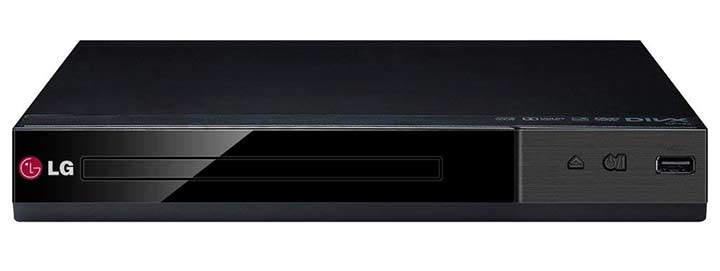 LG Multi-Format DVD Player With USB Plus