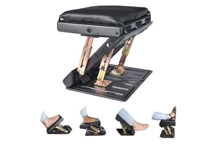 Leermart Adjustable Footrest