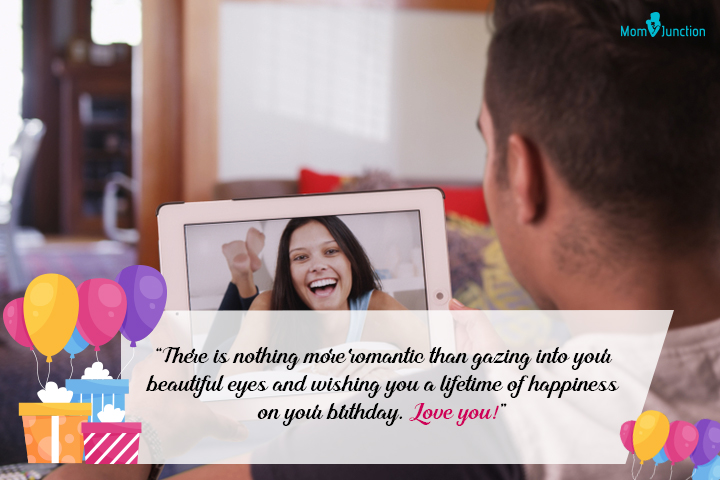 Sweet Birthday Wishes For A Long-Distance Wife