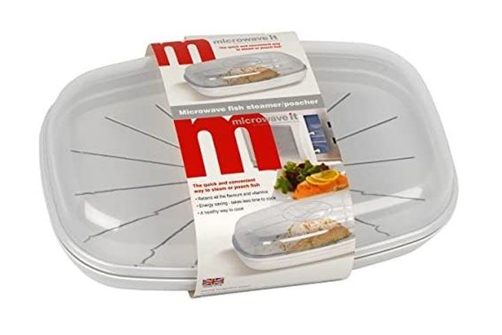 Microwave It Fish Steamer Poacher