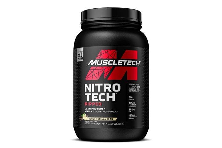 MuscleTech Nitro-Tech Ripped Lean Protein Powder