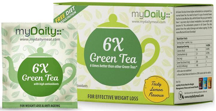 MyDaily 6X Green Tea