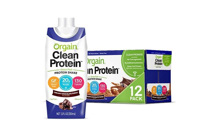 Orgain Grass Fed Clean Protein Shake