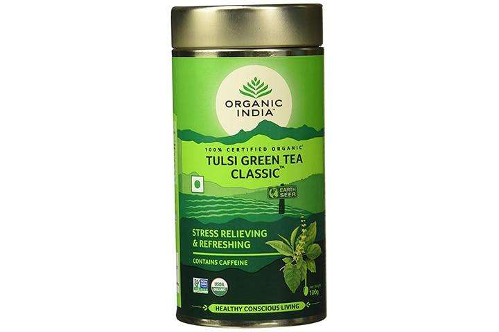 Organic India Classic Tulsi Green Tea