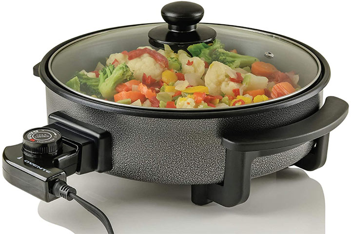 Ovente Electric Kitchen Skillet