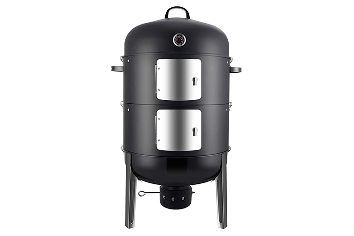 Realcook Charcoal BBQ Smoker Grill