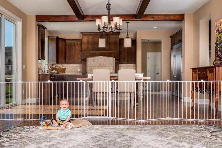 Regalo 192in Super Wide Adjustable Baby Gate and Play Yard