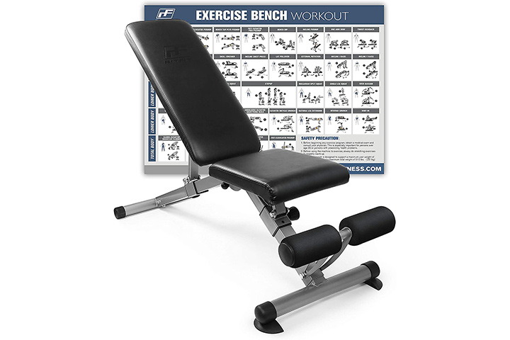 RitFit Adjustable Utility Weight Bench