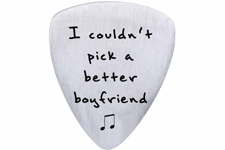 SOSOHOME I Couldn't Pick A Better Boyfriend Guitar Pick