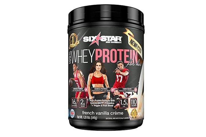 Six Star Whey Protein Powder