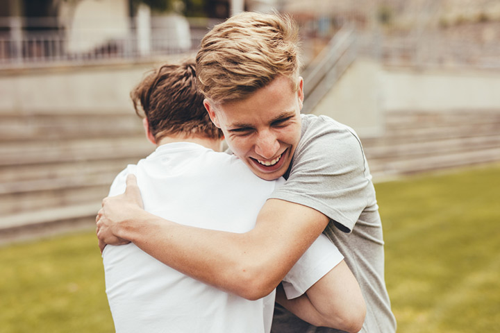 Sloppy hug