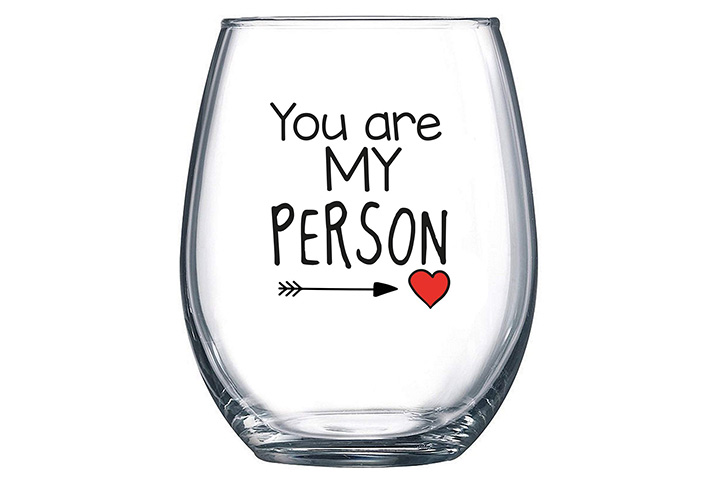 Stemless Wine Glass - You Are My Person