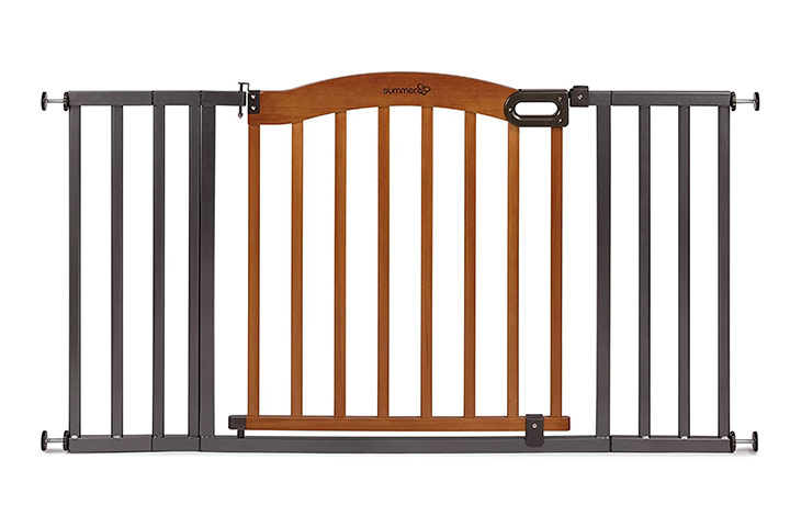 Summer Infant Decorative Wood and Metal Safety Baby Gate