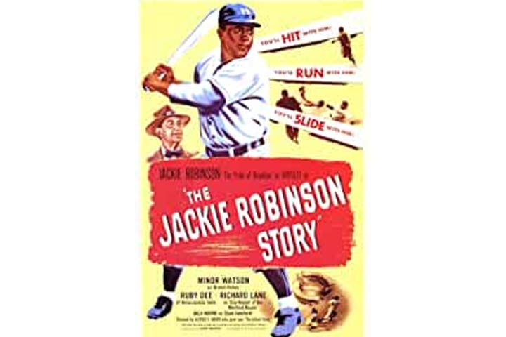 The Jackie Robinson Story (Suitable for ages 10 and older with parental guidance)