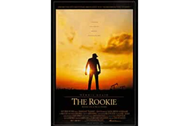 The Rookie (Suitable for all ages)