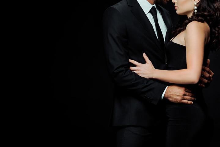 The hug around the waist