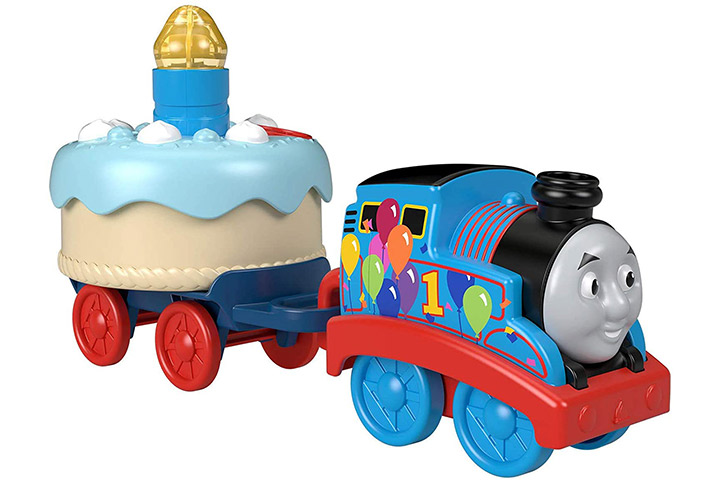 Thomas & Friends Birthday Musical Push-Along Toy Train Engine