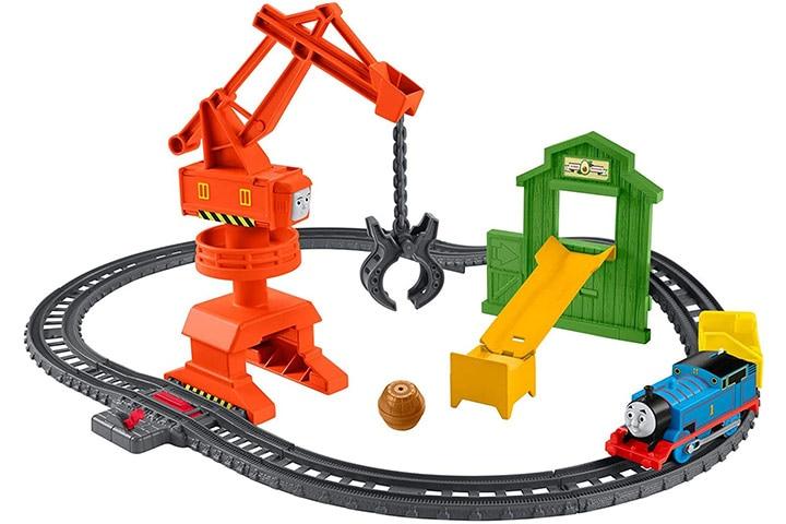 Thomas & Friends Cassia Crane and Cargo Set
