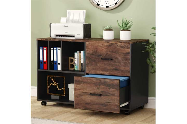 Tribesigns 2-Drawer Lateral File Cabinets