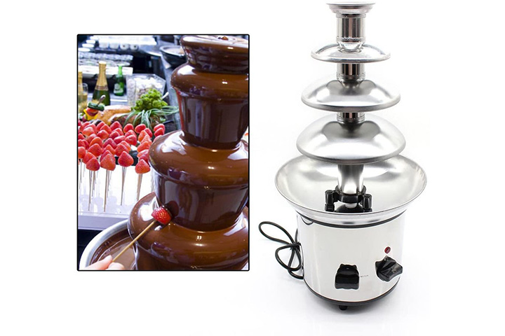WUPYI Chocolate Fondue Fountain