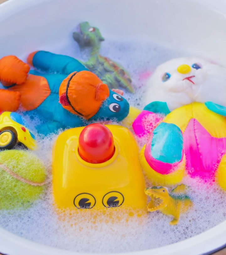 When And How To Clean, Disinfect Baby Toys1
