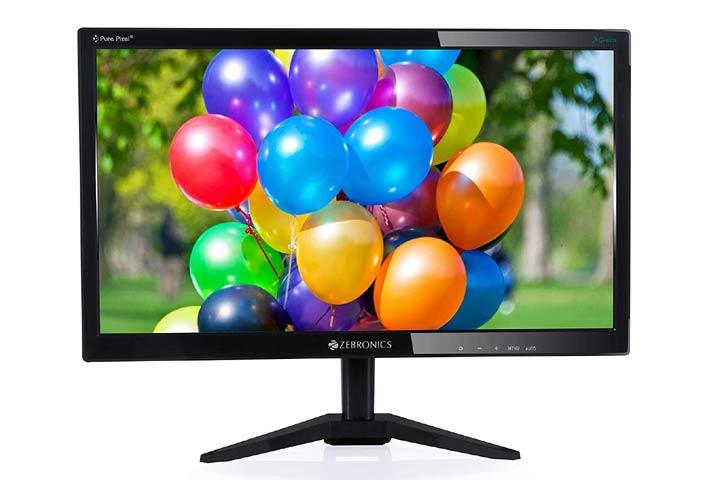 ZebronicsLED Backlit Computer Monitor