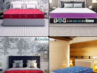 17 best Mattresses In India For A Good Night's Sleep!