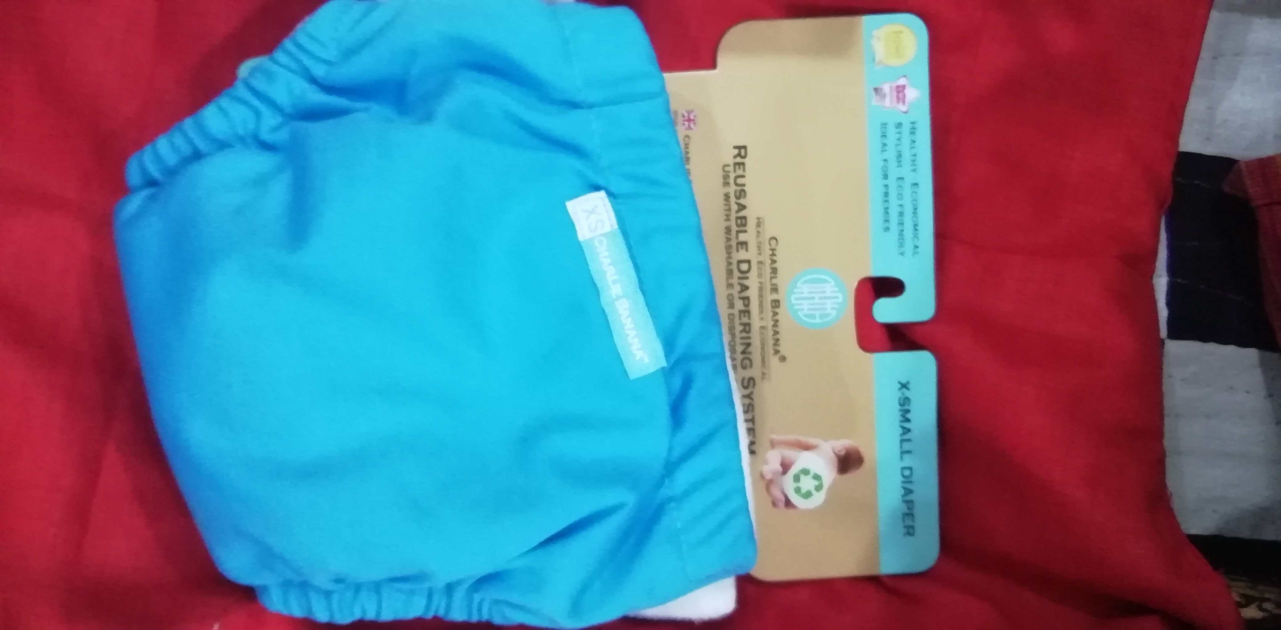 Charlie Banana Newborn Cloth Diaper-Soft and very comfortable cloth daipers-By momofbabykevin