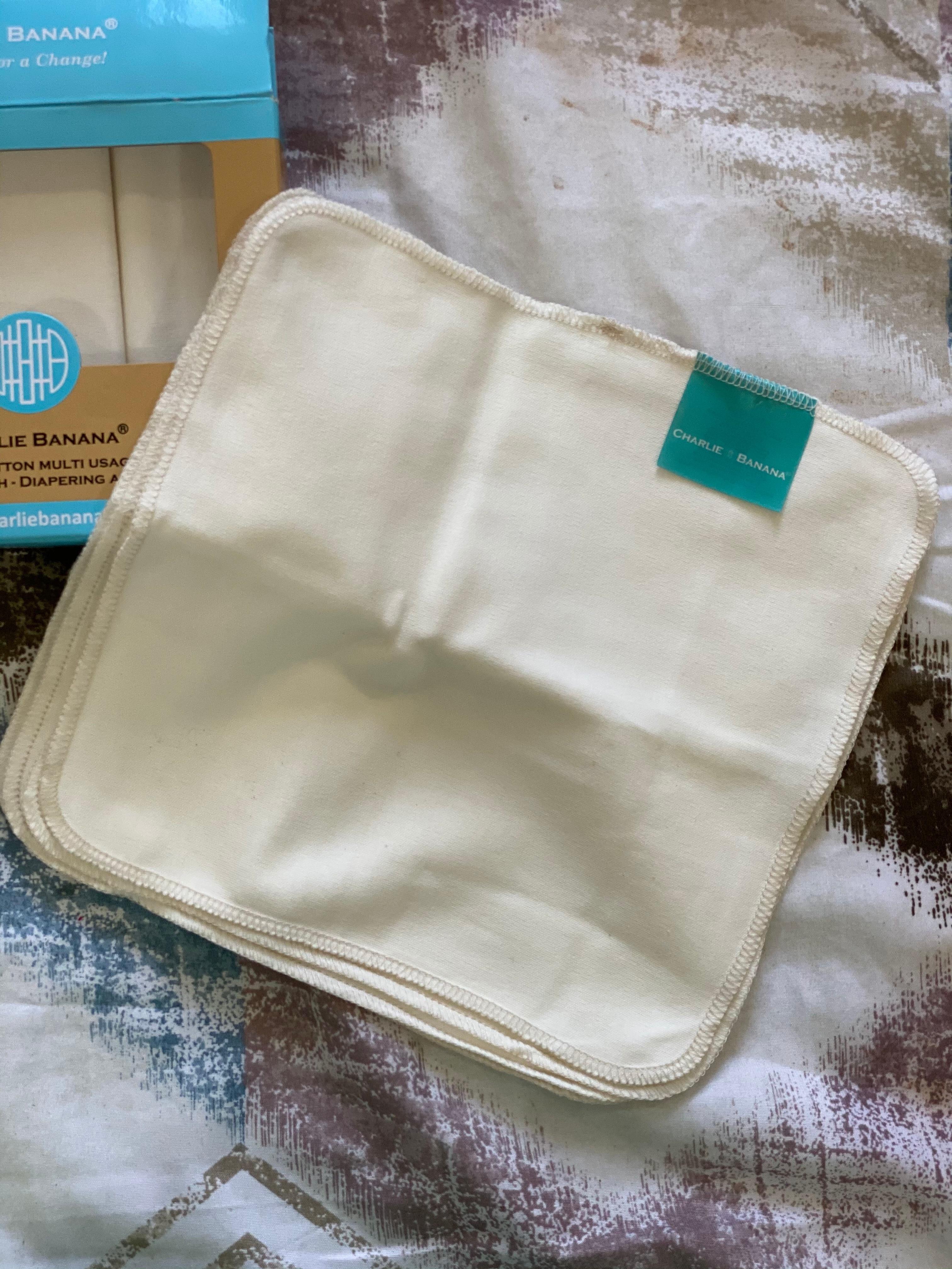 Charlie Banana Reusable Organic Cotton Wipes-Wonderful quality-By shwetac15