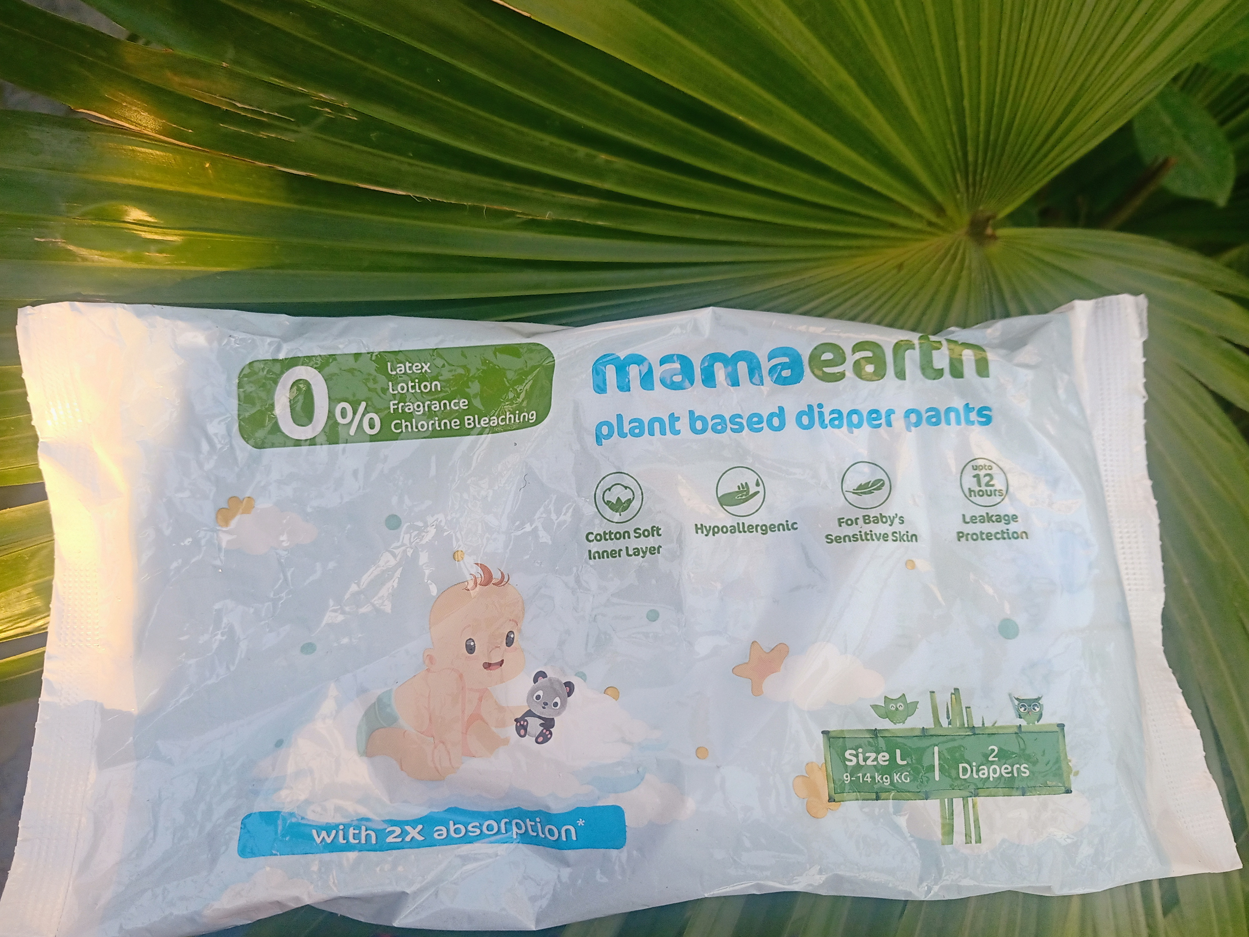 Mamaearth Plant Based Diaper Pants-Love this new diaper-By arohi_chatterji
