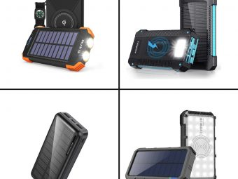 11 Best Solar Power Banks Of 2021