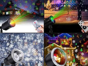 13 Best Christmas Light Projectors In 2021