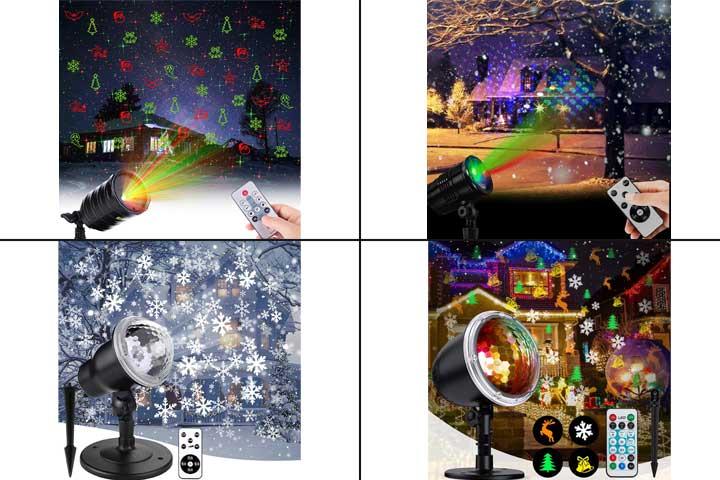 13 Best Christmas Light Projectors In 2020-1