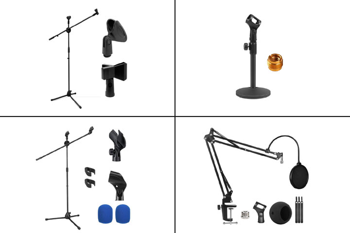13 Best Microphone Stands To Buy In 2021-1