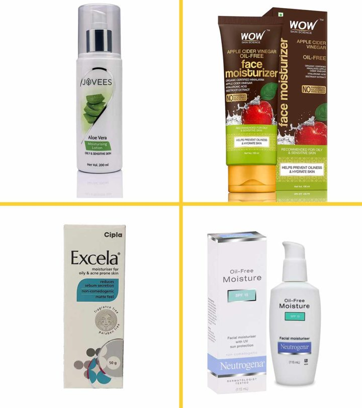 Best Moisturizers for Oily skin In India