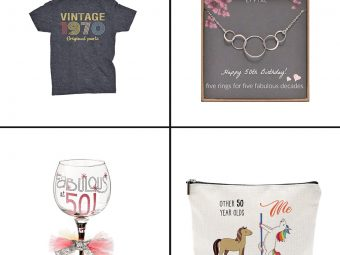 17 Best Gifts For 50th birthday In 2021