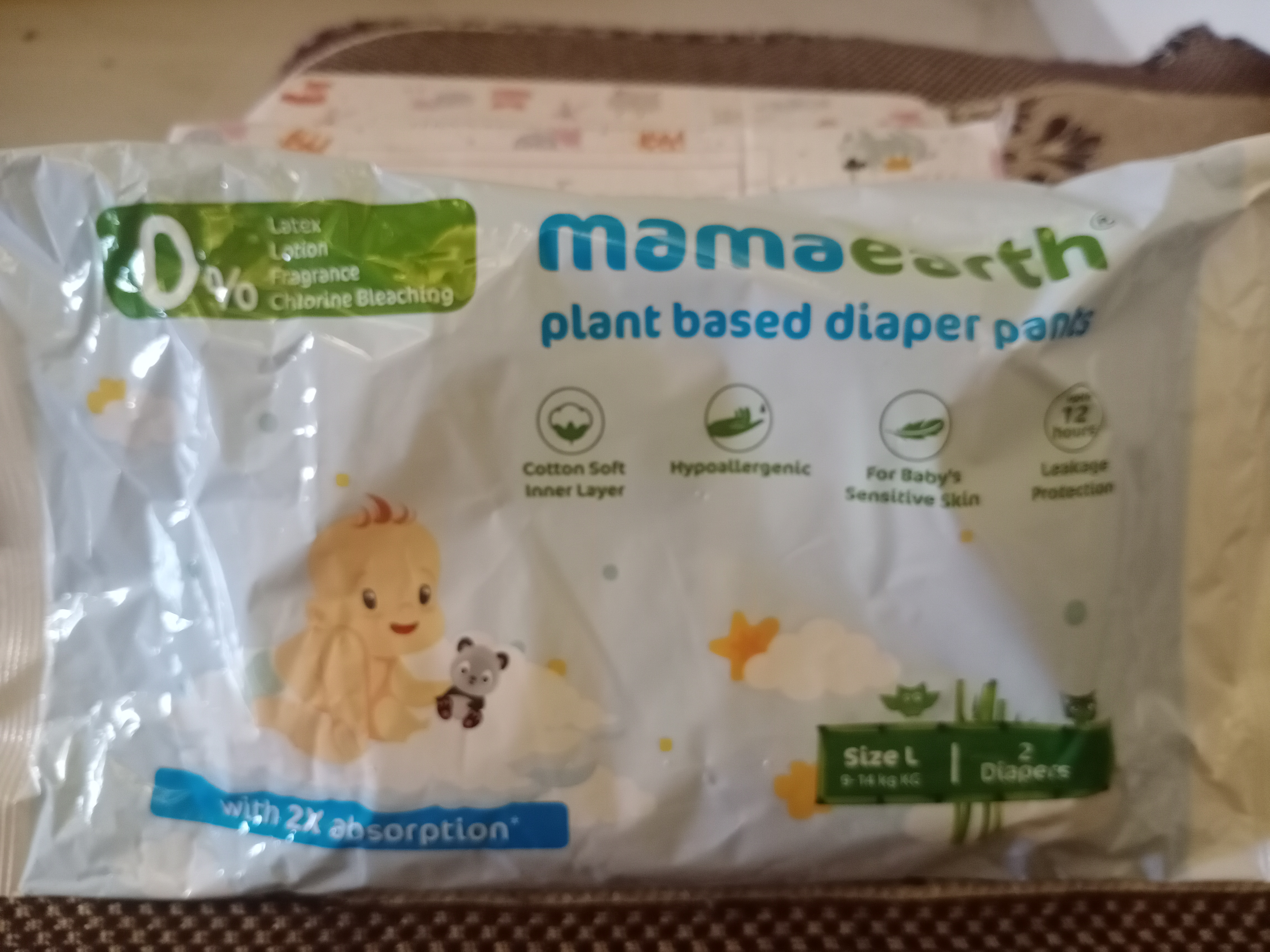 Mamaearth Plant Based Diaper Pants-Super soft pants for sensitive skin-By sushma_tiwari