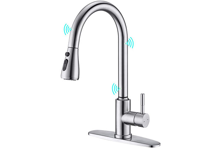ARRISEA Touch-On Activation Kitchen Faucet